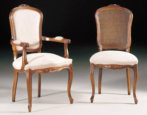 Sillas cl sicas sillas pinterest - Sillas de salon clasicas ...