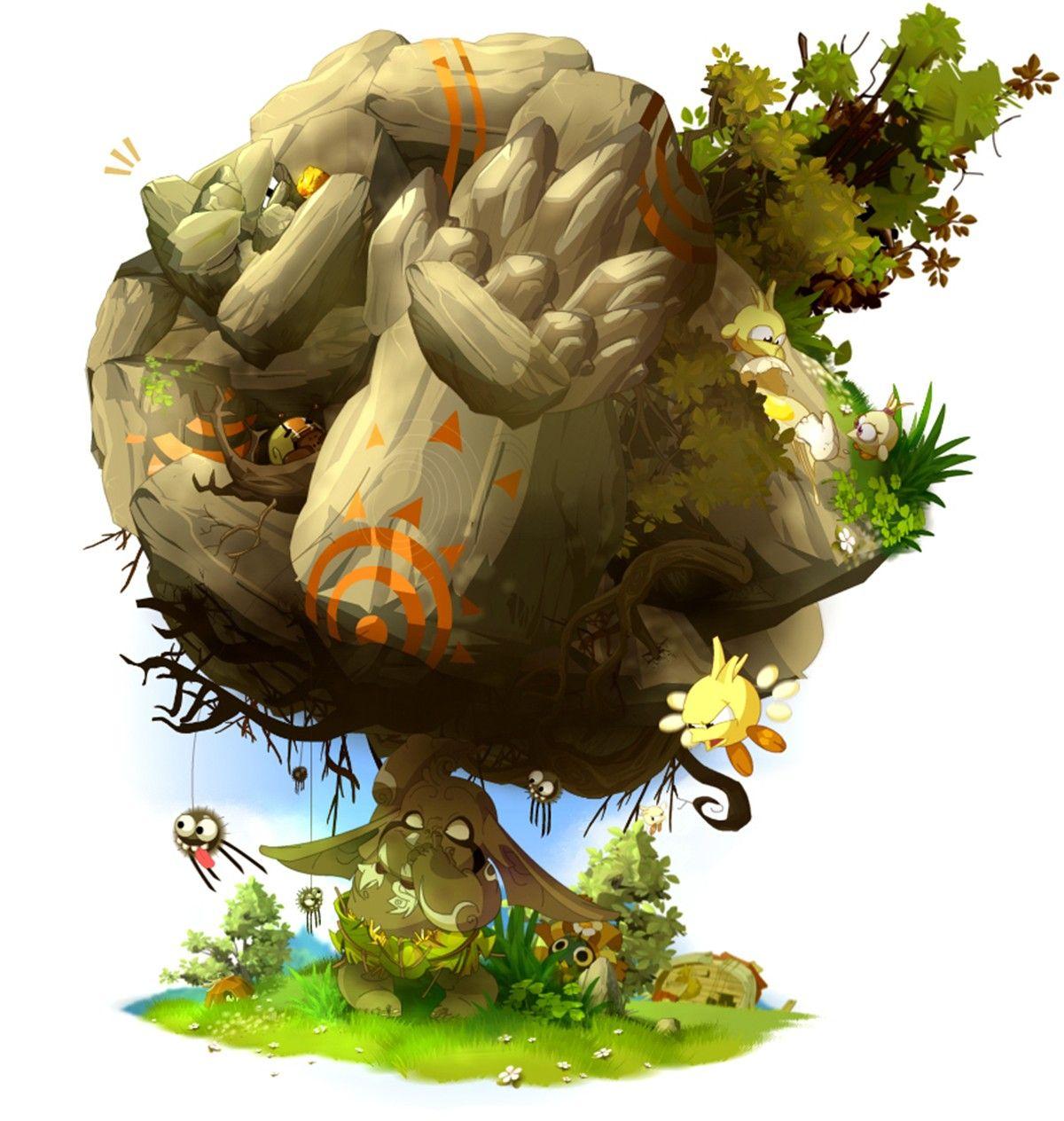 Cartoons Comics Vector Fantasy Art Wakfu Digital Art Dofus