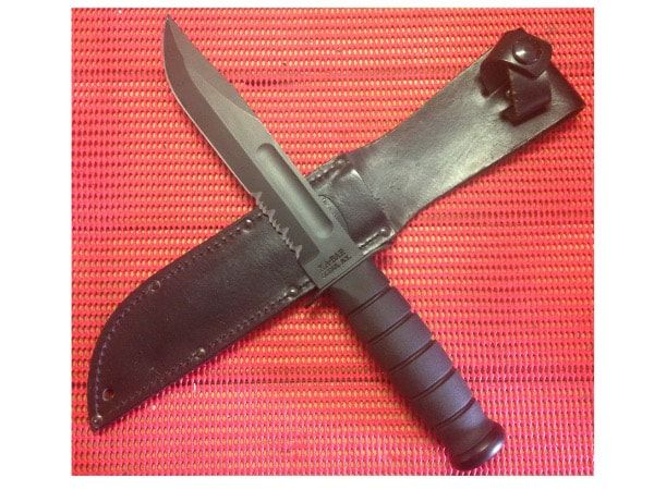 Another great knife coming from a great knife manufacturer the KA-BAR Fighting Utility Knife is an iconic piece of art. Battle tested this knife is