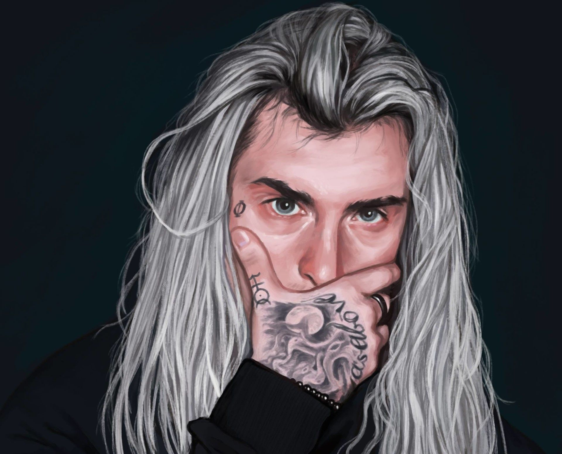 ArtStation Ghostemane , Nat Rojek