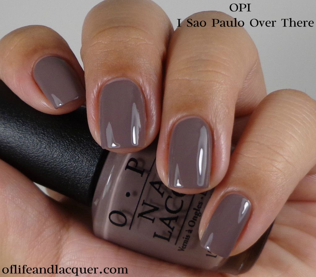 OPI: ☆ I Sao Paulo Over There ☆ OPI Brazil Collection Spring ...