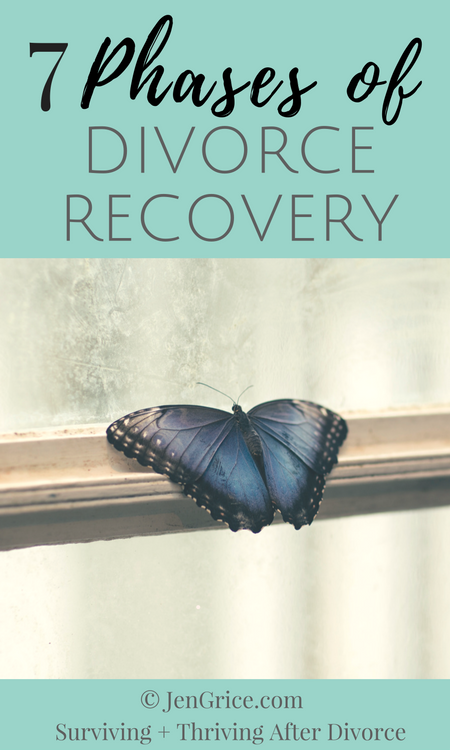7 Phases of Divorce Recovery