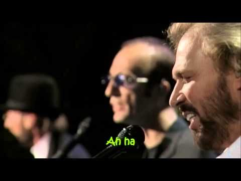 Bee Gees Islands In The Stream With Lyrics Youtube Bee