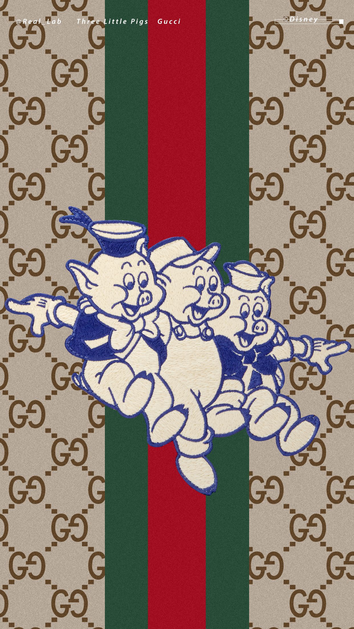 5f8197cf8d7f Pin by Seth Escoto on Gucci pigs and clothes in 2019   Three little ...