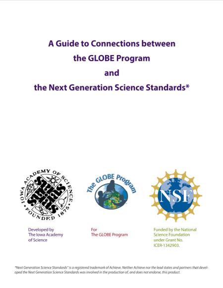 Next Generation Science Standards (U.S.) - GLOBE.gov - A Guide to Connections between The GLOBE Program and NGSS