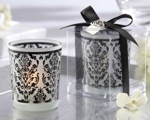 Parisian wedding decorations - candle holders as low as $6.72, damask wedding decorations, wedding table decorations