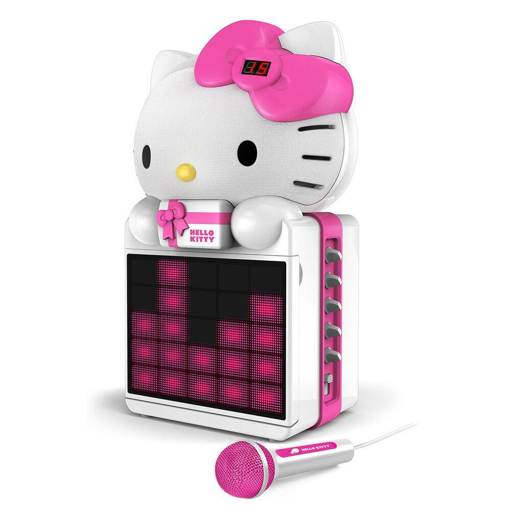 Hello Kitty CDG Karaoke System with LED Light Show and P3,MP4G Playback 77283010804 | eBay #karaokesystem