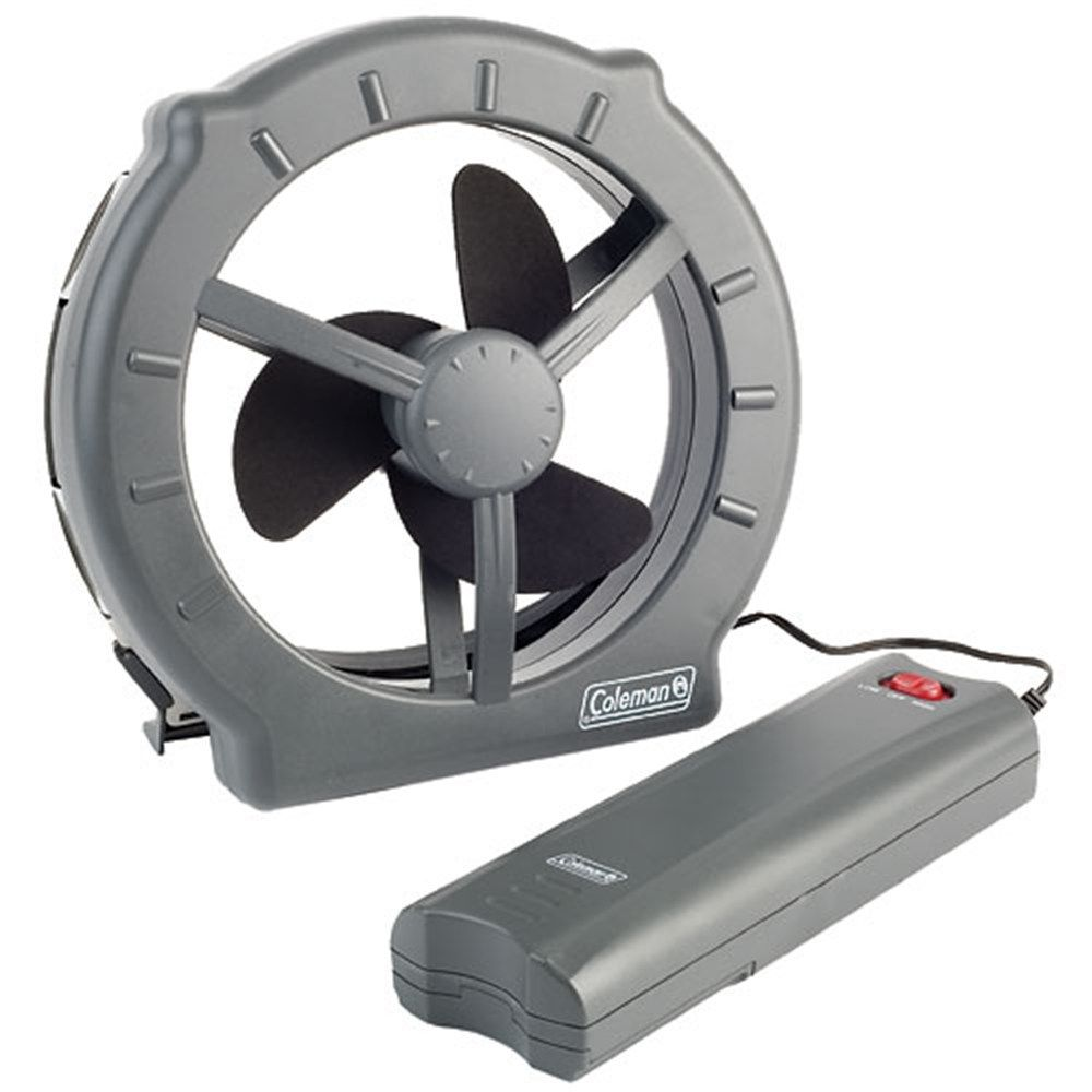 Coleman - Cool Zephyr™ Window Fan $25 attaches magnetically