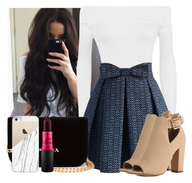 """""""♡ danger"""" by empressdesiree ❤ liked on Polyvore featuring WearAll, Chicwish, Prada and Casetify"""