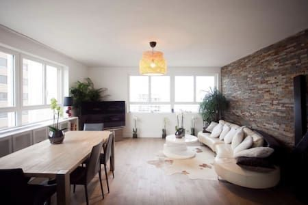 Regardez ce logement incroyable sur Airbnb : great flat with superbe panormic view of Paris - Appartements à louer à Paris