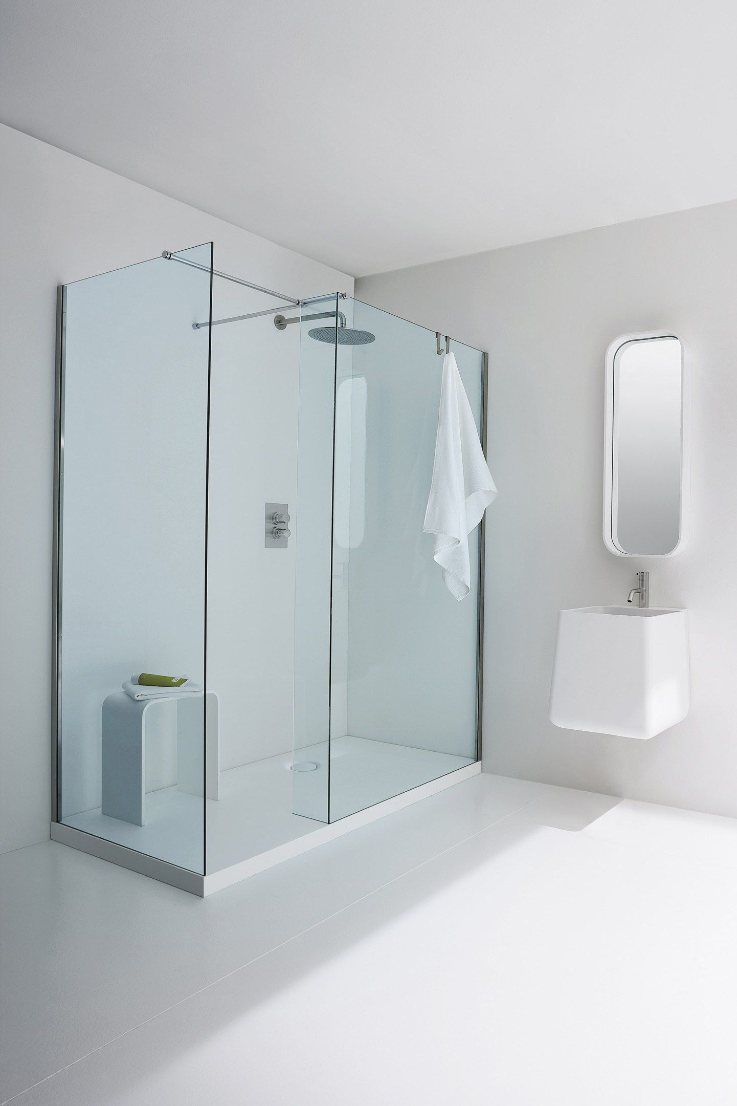 Glass Shower Door Robe Hooks Bathroom Ideas Pinterest Shower