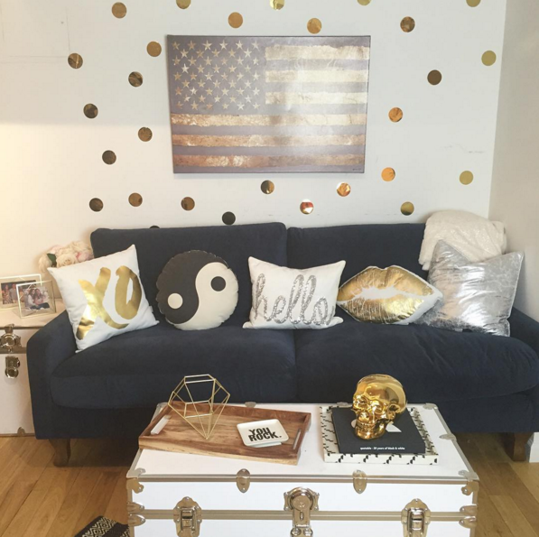 College Apartment Living Room: Living Room Goals
