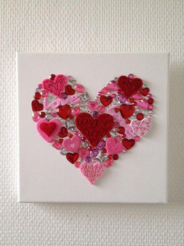 Diy Cadre Coeur Pour Fete Des Mere Ou Saint Valentin Ks
