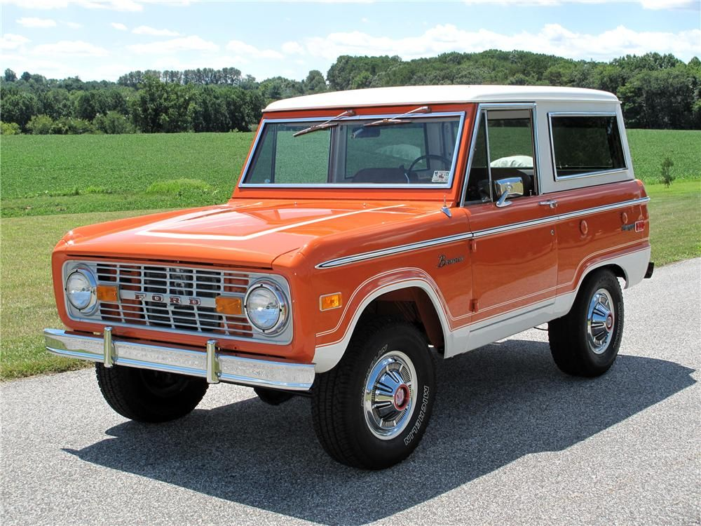 1974 Ford Bronco Suv Ford Bronco Ford Trucks Classic Trucks