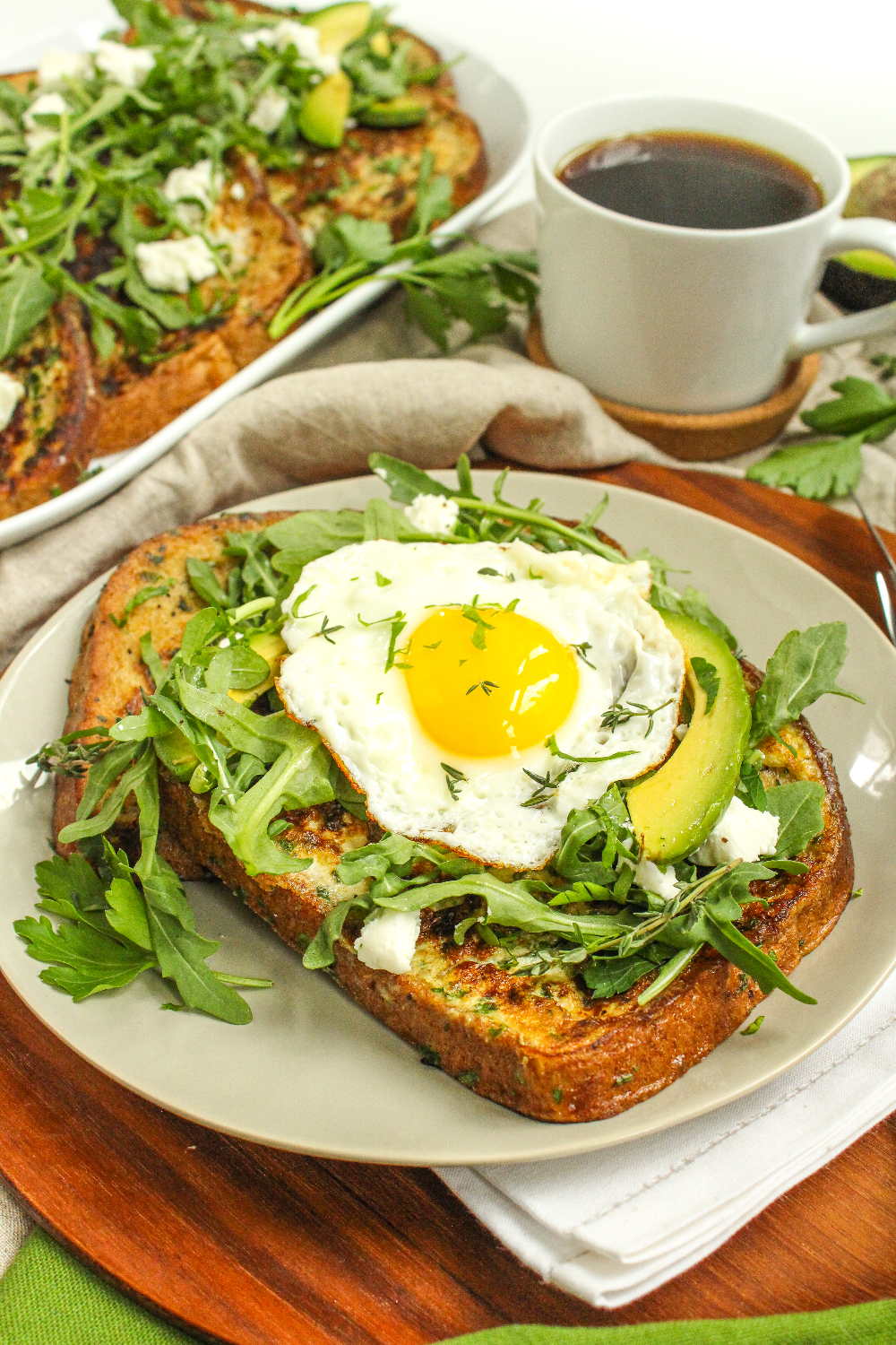 Photo of Easy Savory French Toast Recipe – fANNEtastic food | Registered Dietitian Blog | Recipes + Healthy Living + Fitness