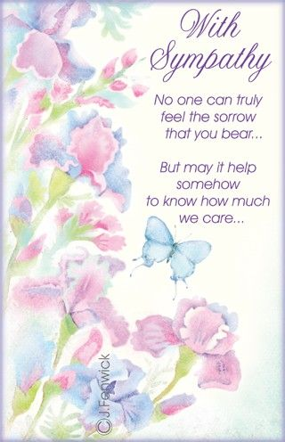 pin by jan cooksley on sympathy pinterest sympathy cards condolences and sympathy card messages - Sympathy Cards