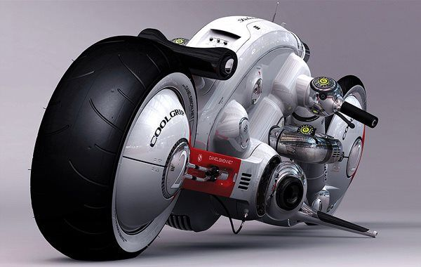 Motorcycle for the future