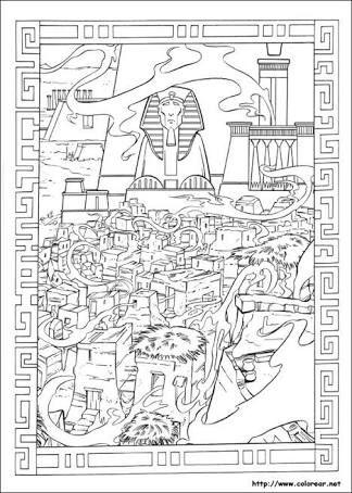 Resultado de imagen para dibujos egipcios para colorear | Ancient ...