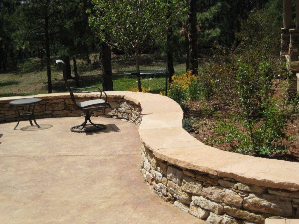 Retaining Wall Seating | Seating Walls