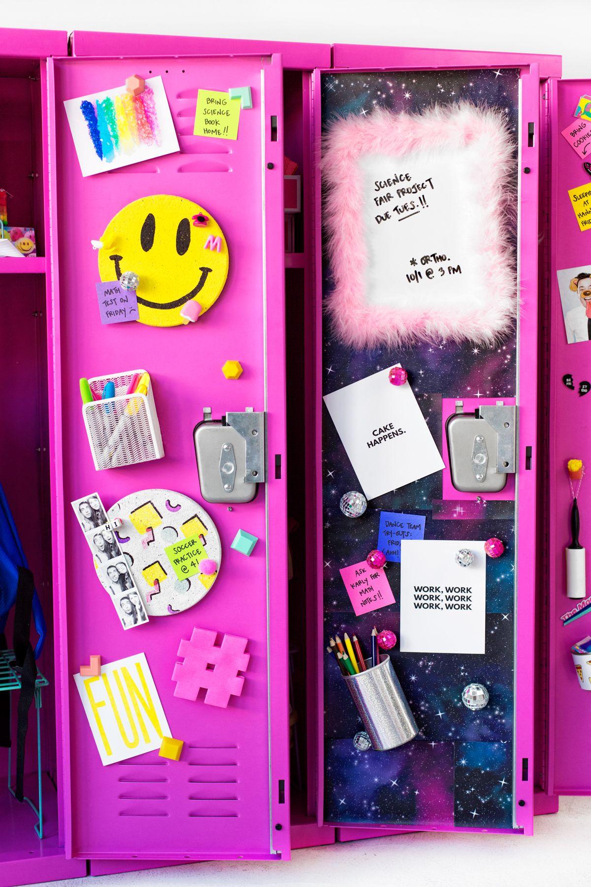 DIY Locker Decor Ideas Diy Locker Lockers And Locker Ideas - Cute diy school locker ideas