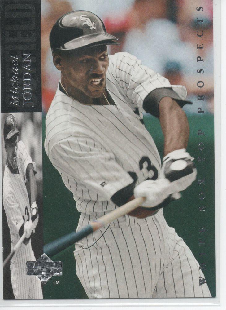 1994 upper deck minors mj23 michael jordan silver