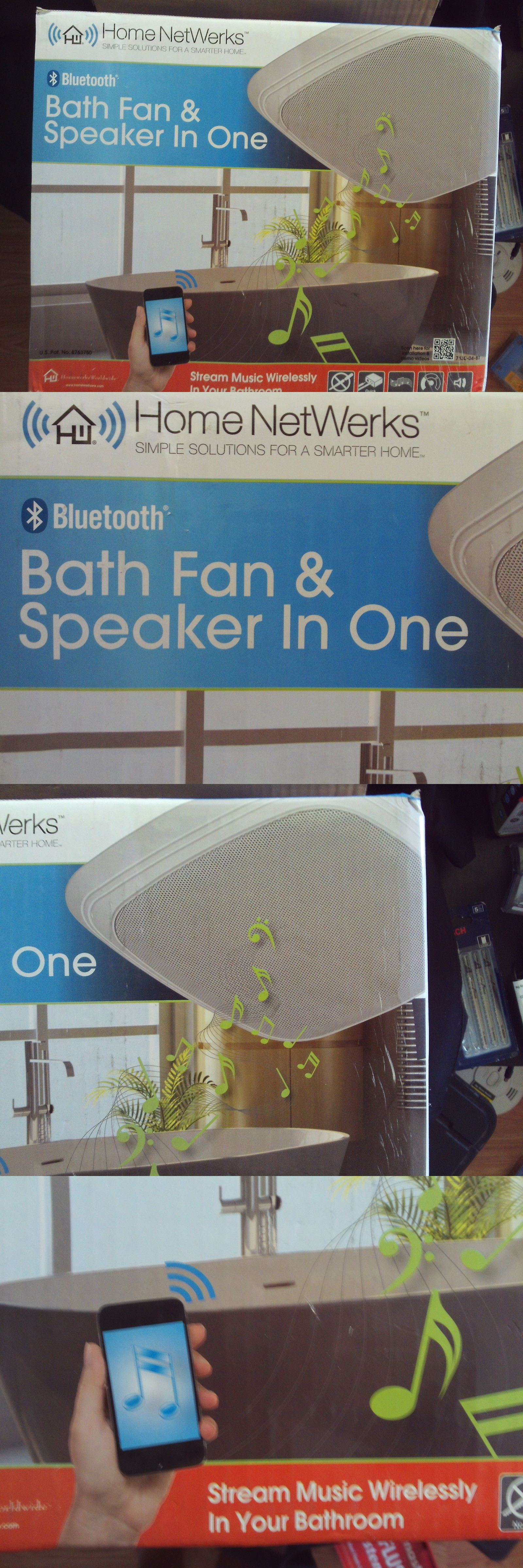 Other Bathroom Items Home Networks Bluetooth Bath Fan And