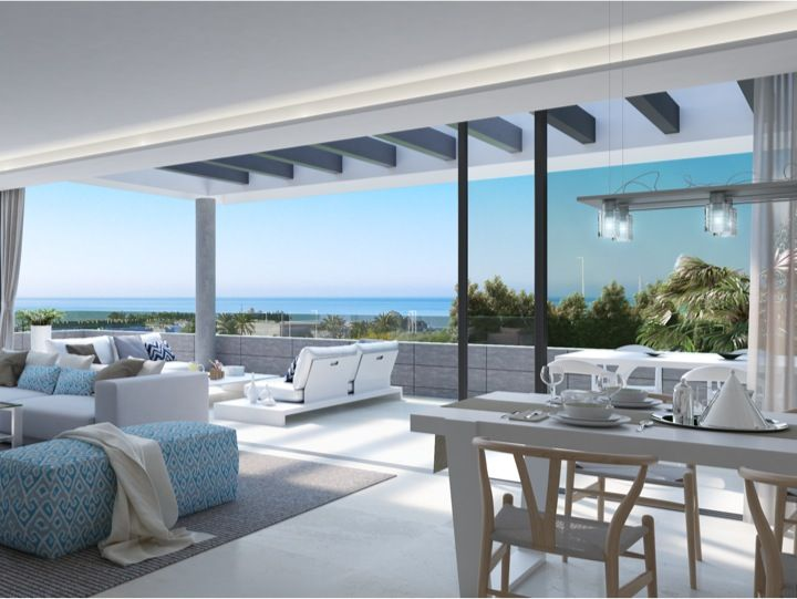 New project of #modern #villas (http://bablomarbella.com/en/show/sale/25009/) and #apartments (http://bablomarbella.com/en/show/sale/25010/) within the #marbella area
