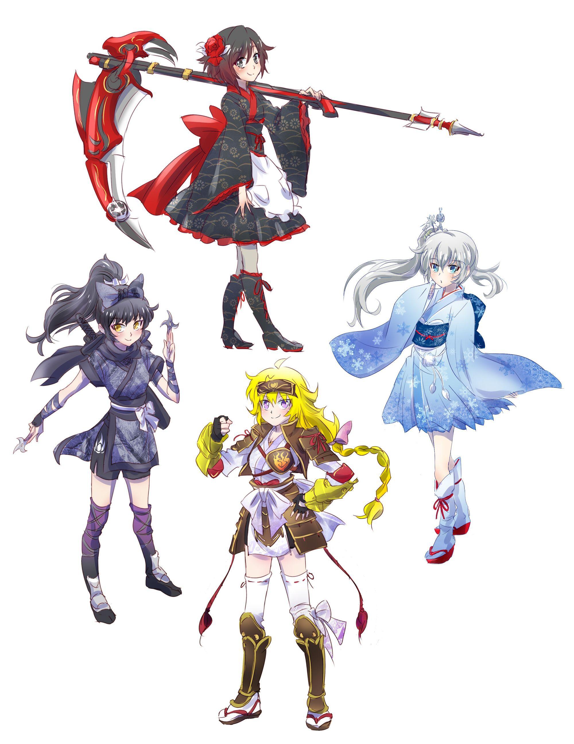 Japanese Cosplay Rwby anime, Rwby characters, Rwby wallpaper