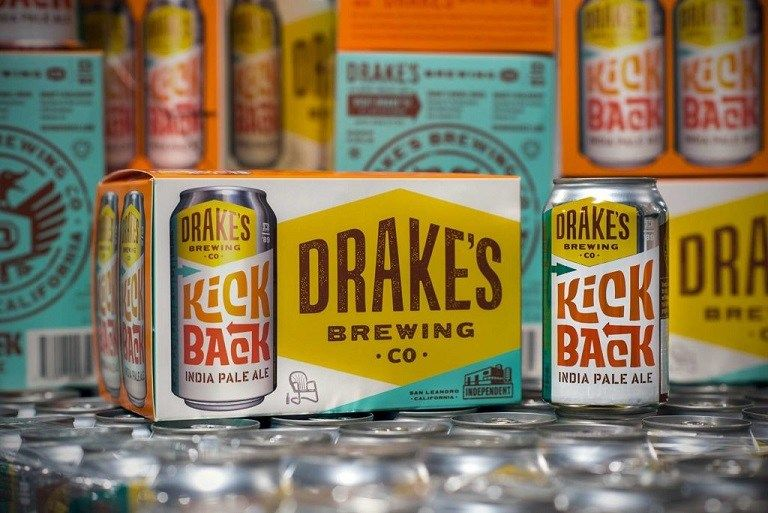 Drake's Brewing Kick Back IPA is Now in Cans