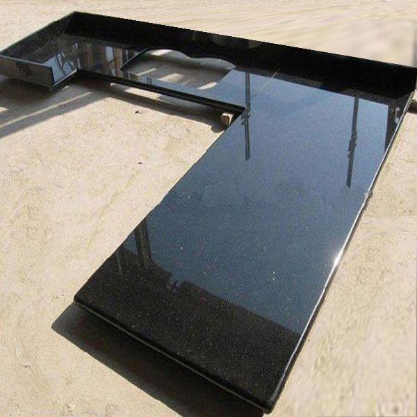 Newstar supply black-galaxy granite countertop China factory wholesale kitchen
