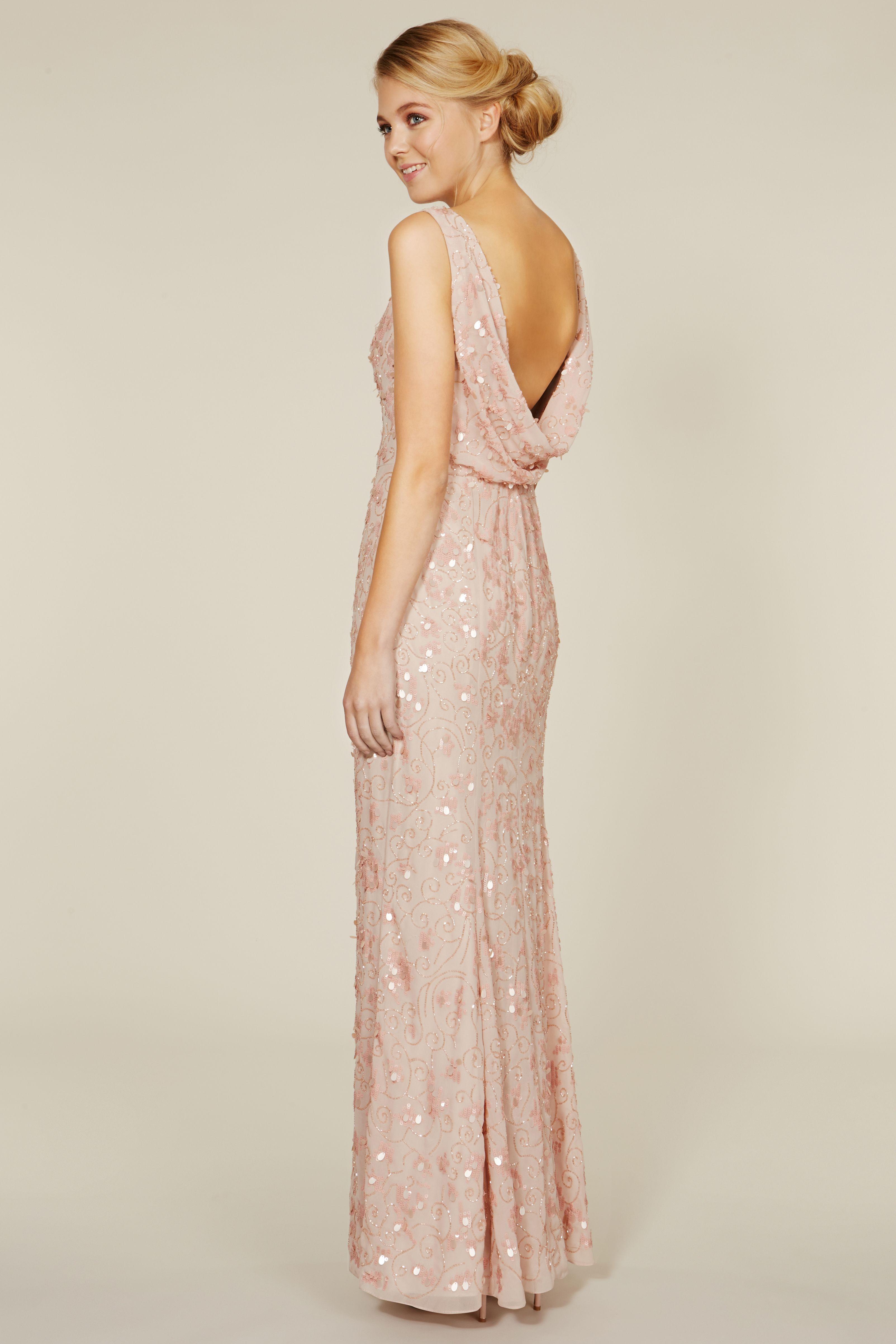 239090eb Felix Sequin Maxi Dress (£350) | bridesmaid dresses | Bridesmaid ...