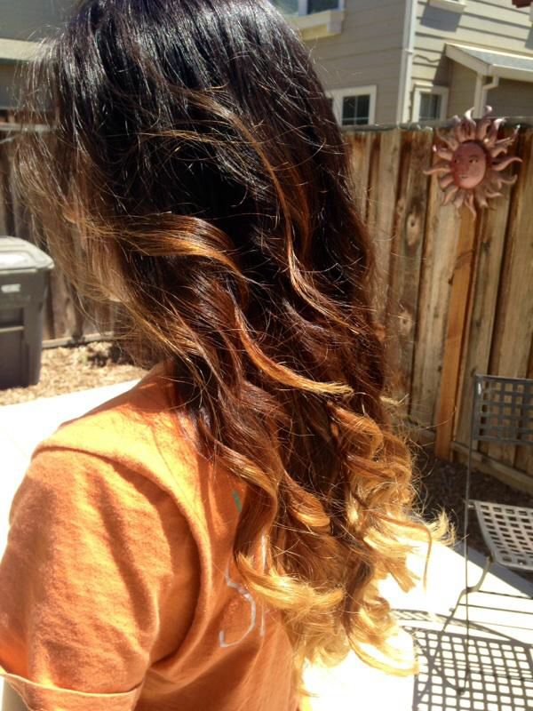 3 Tone Ombre Haircolor Pinterest Ombre And Girl Stuff