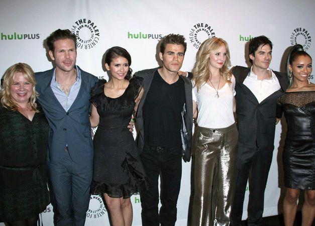 full cast of vampire diaries