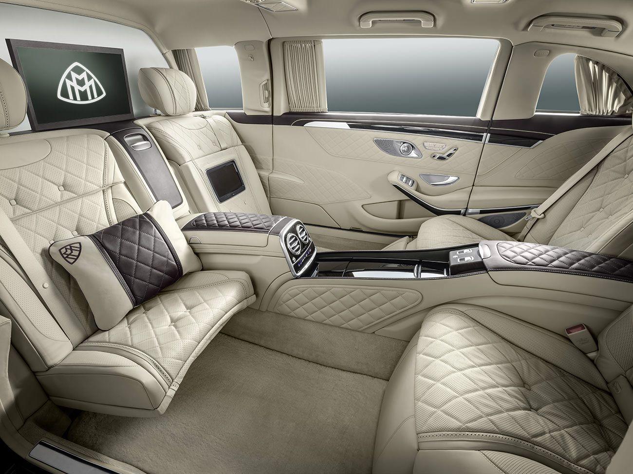 maybach mercedes benz s class limousine interior | traumautos