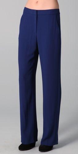 Sonia Rykiel Blue Suiting Pants