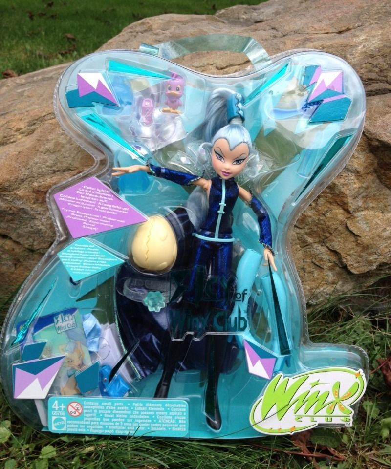 Winx Club Icy Doll W Pepe And Egg Original Lights Up Rare New In Box