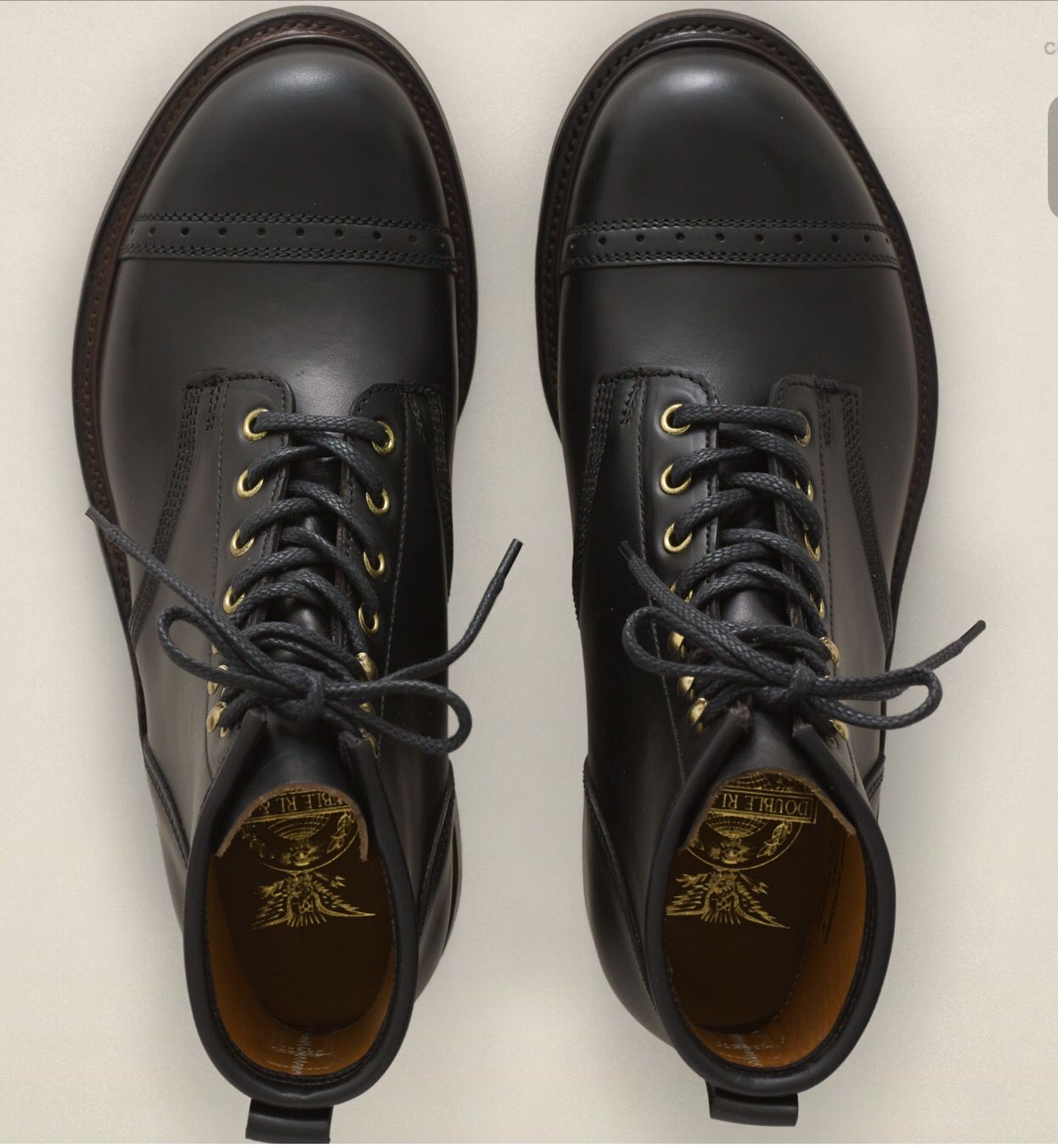 RRL Bowery Boots | Shoe boots, Leather