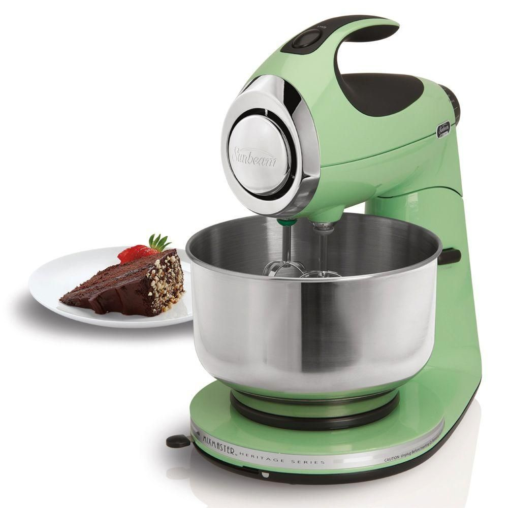 Heritage 12-Speed Stand Mixer in Seafoam Green Learn how you could ...