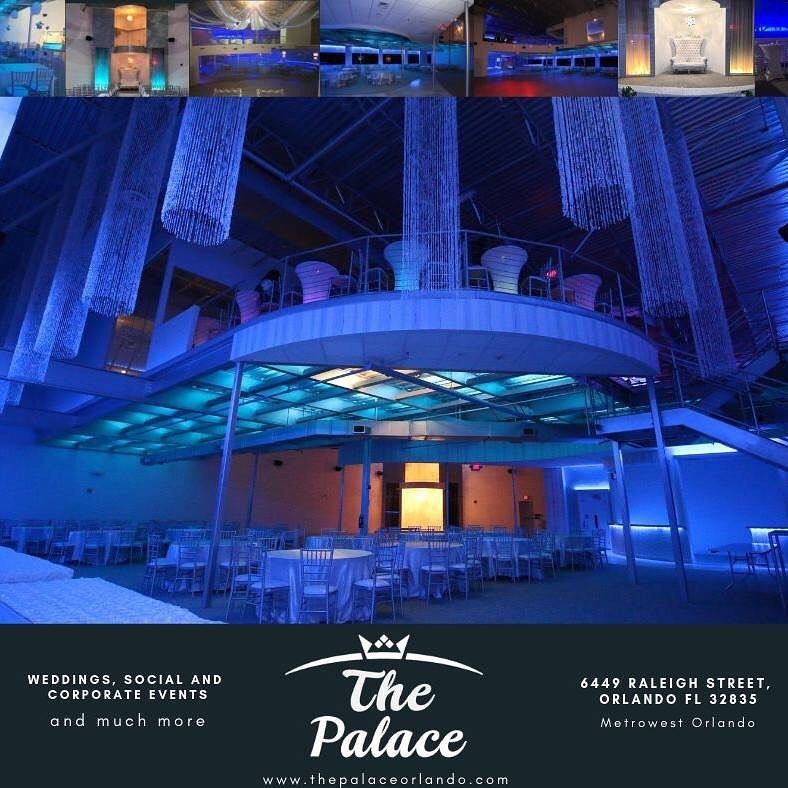 Interested in hosting this year's Special Event at The Palace? Book a Luxurious Wedding or your Corporate Holiday Party now before our prices increase! . . .