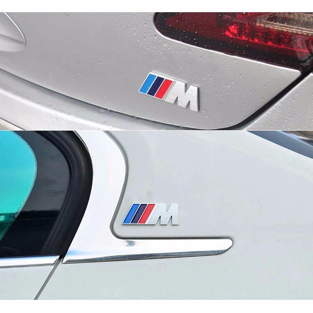 Car sticker design ebay - High Quality Aluminum Car Sticker M Sport Logo Emblem For Bmw Motosport In Ebay Motors Parts Accessories Car Truck Parts Decals Emblems License