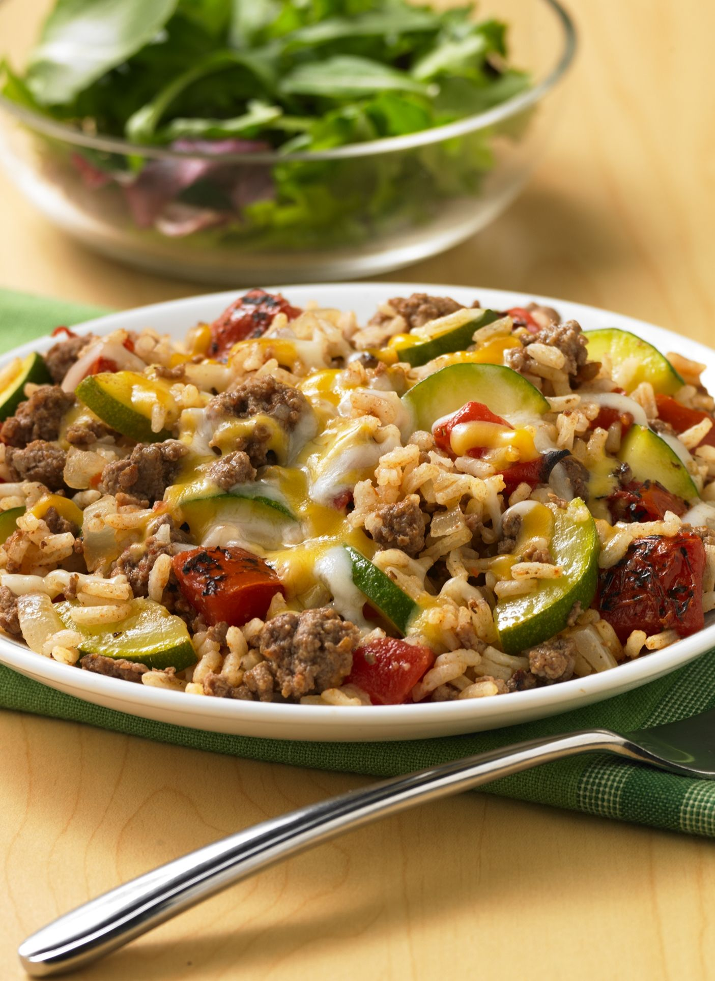 Zucchini Beef Rice Skillet Recipe Recipes Ground Beef Recipes Dinner Recipes