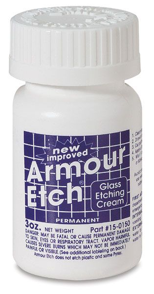 Armour Etch Blick Art Materials In 2020 Etching Glassware Diy Etched Glassware Etching Cream
