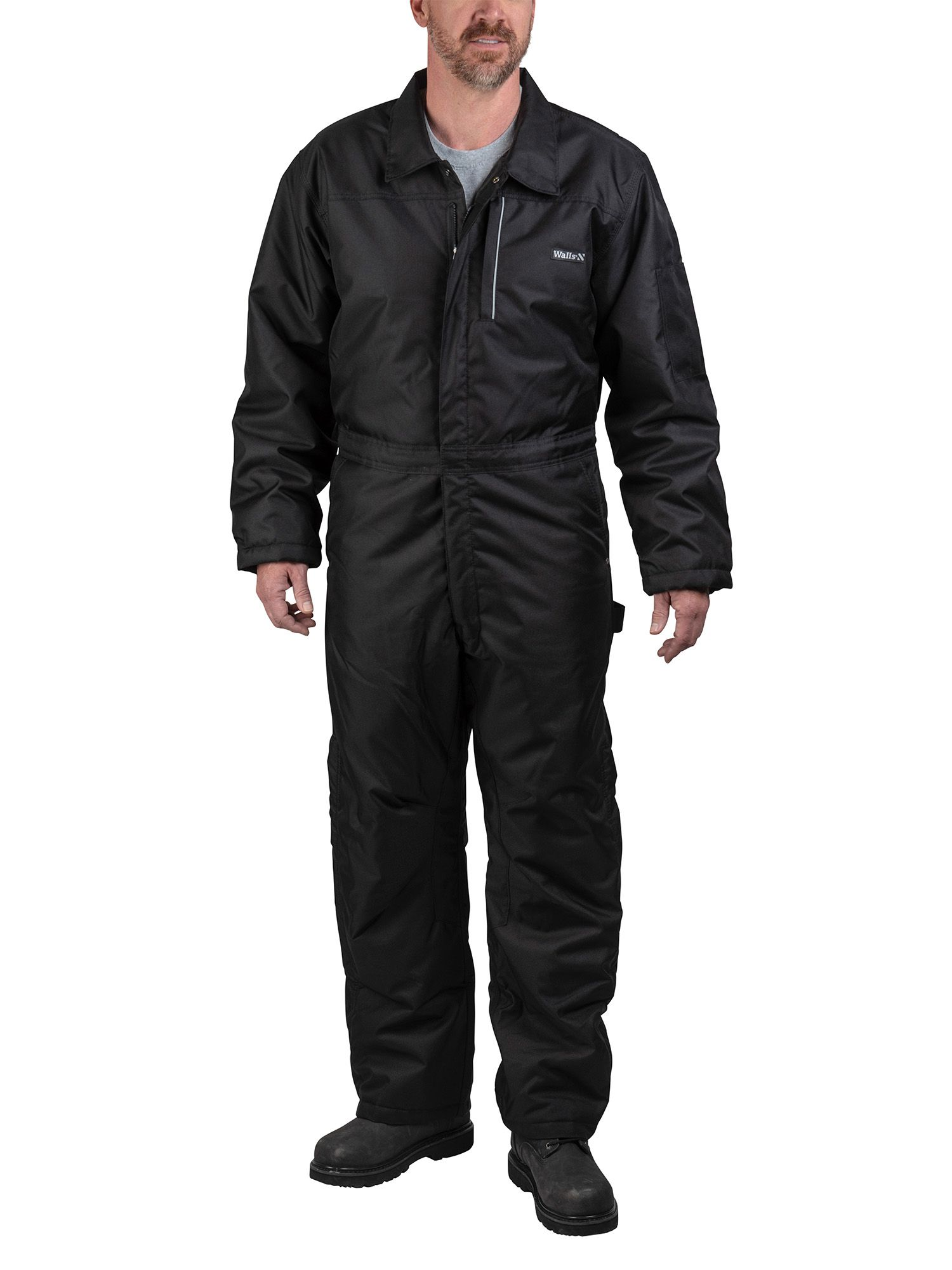 walls walls men s insulated flex duck coverall walmart on walls workwear insulated coveralls id=35528