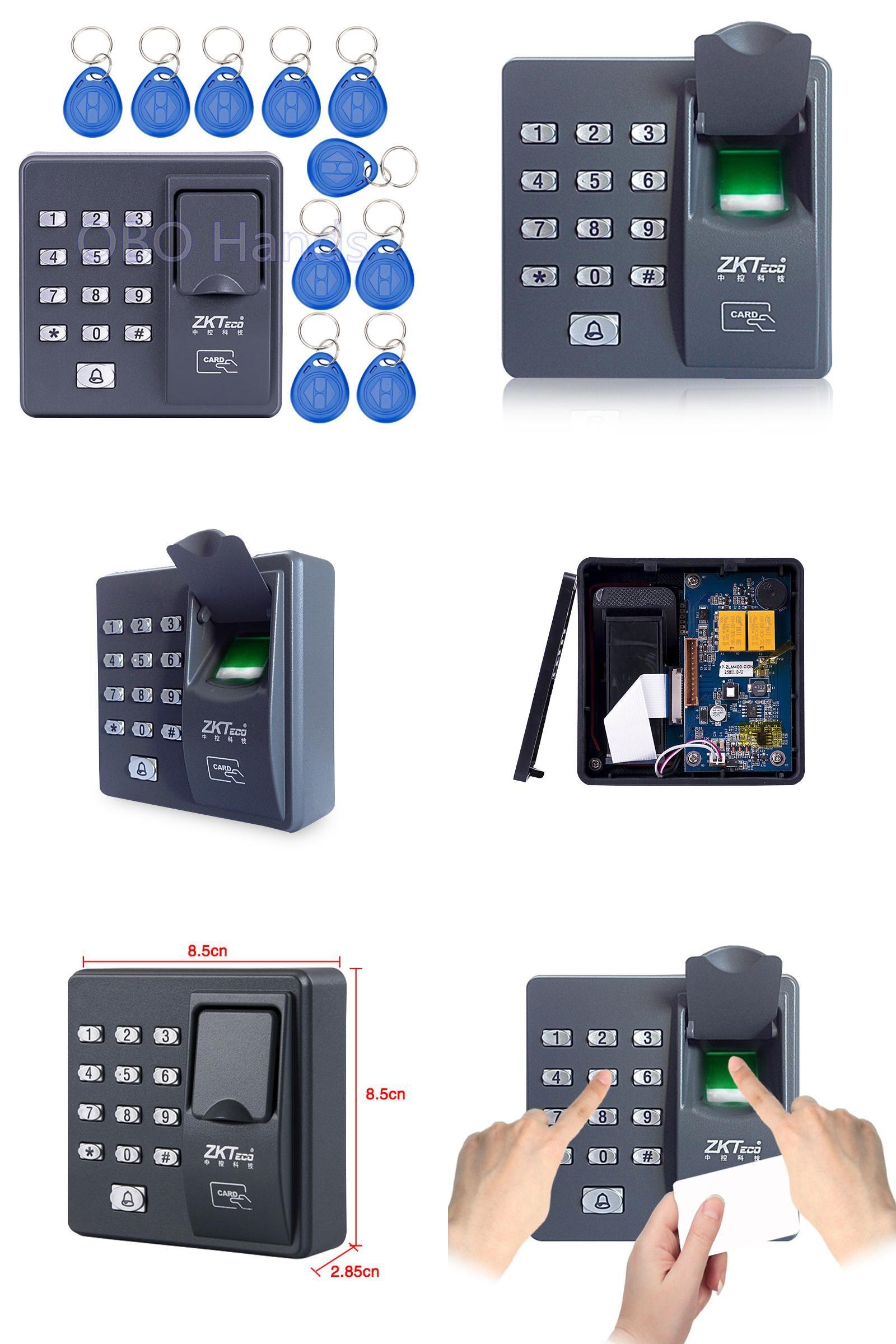 [Visit to Buy] Digital electric RFID reader finger scanner