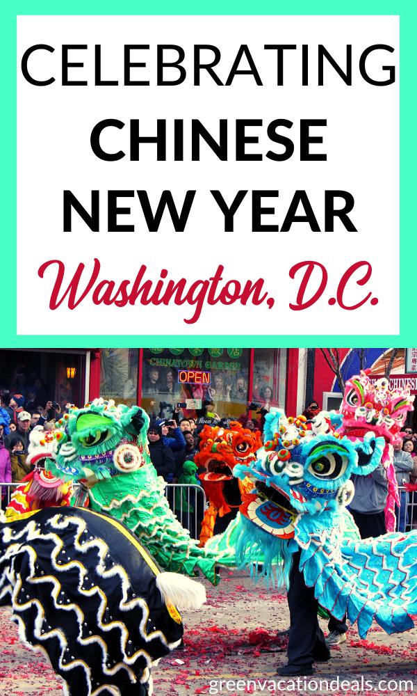 Celebrating Chinese New Year In Washington, D.C. Chinese