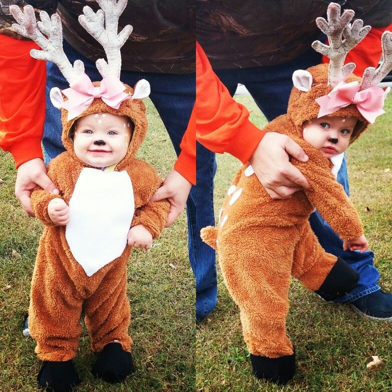 Baby Reindeer Costume. You are gonna love how much they'll look like a sweet little baby reindeer in this Baby Reindeer Costume! Made of % polyester, this adorable jumpsuit zips in the back and has snap buttons along the leg inseams for easy changing.