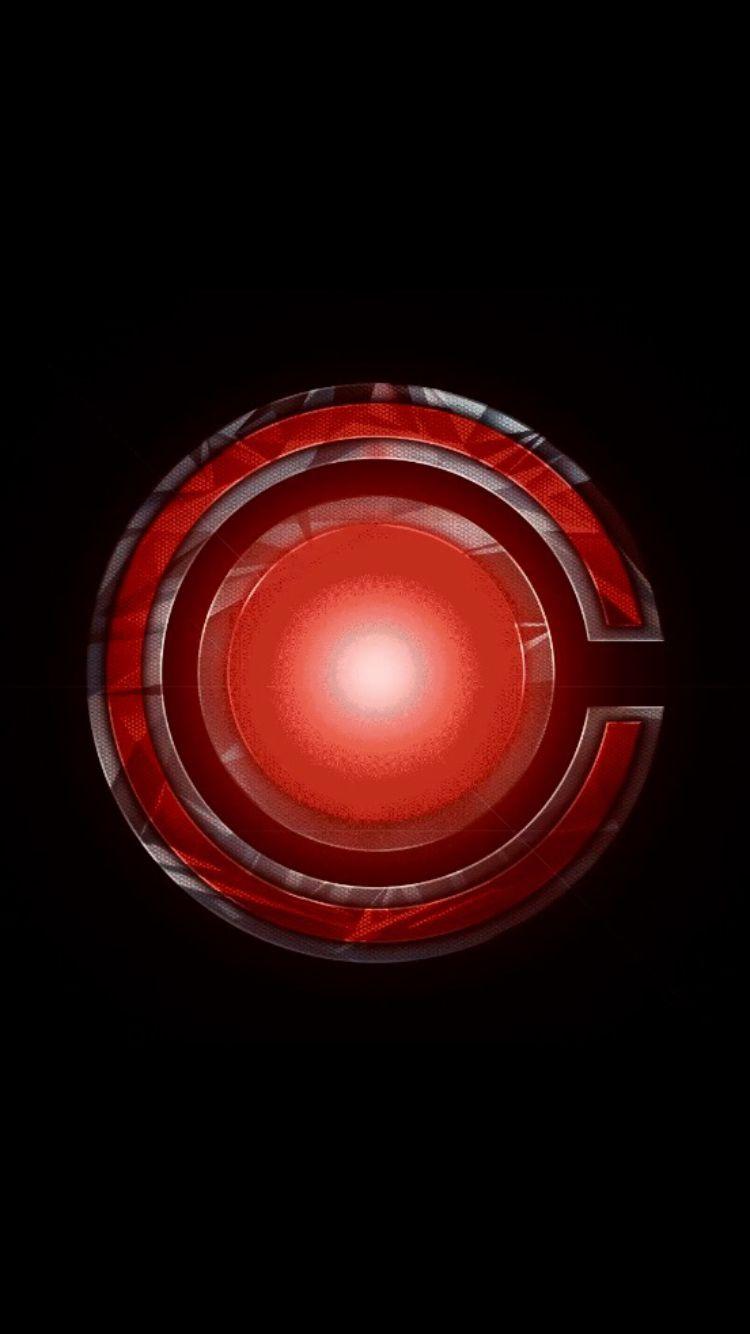 Cyborg Symbol Superhero Silhouette Superhero Wall Cyborg