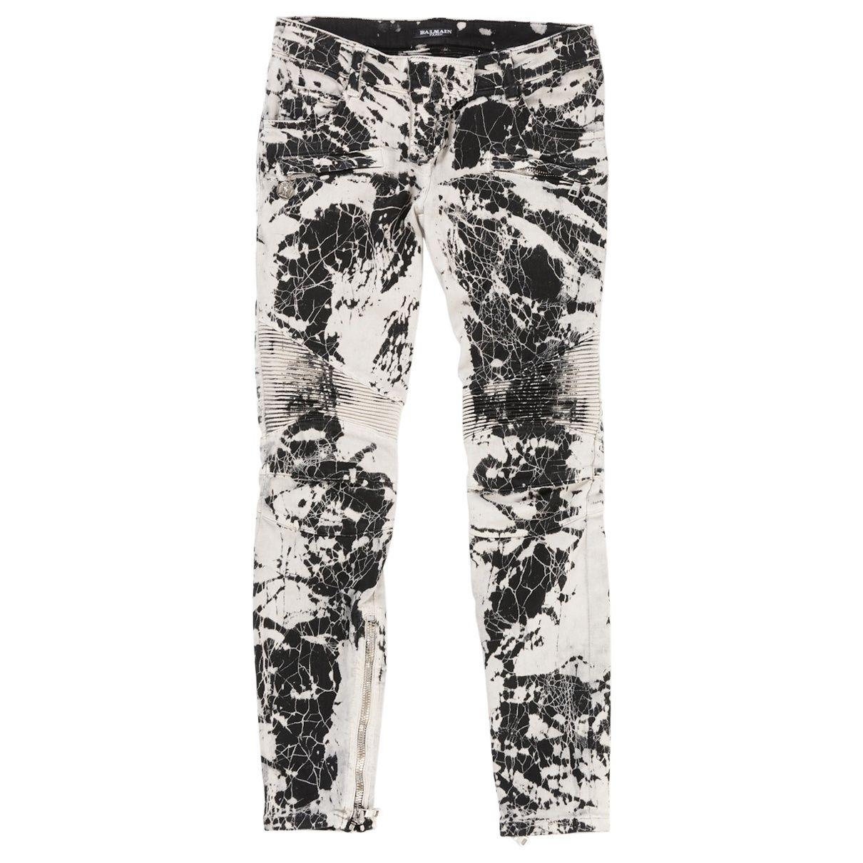 4a377b3c9e4fb Cotton Jeans | Dress up! | Jeans, Balmain, Pants