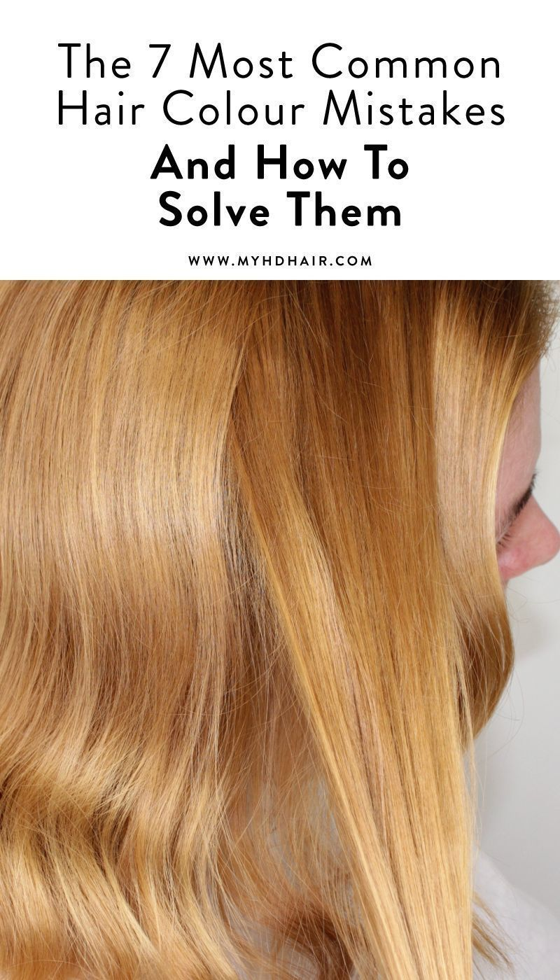 The 7 Most Common Hair Colour Mistakes We Re Asked And How To