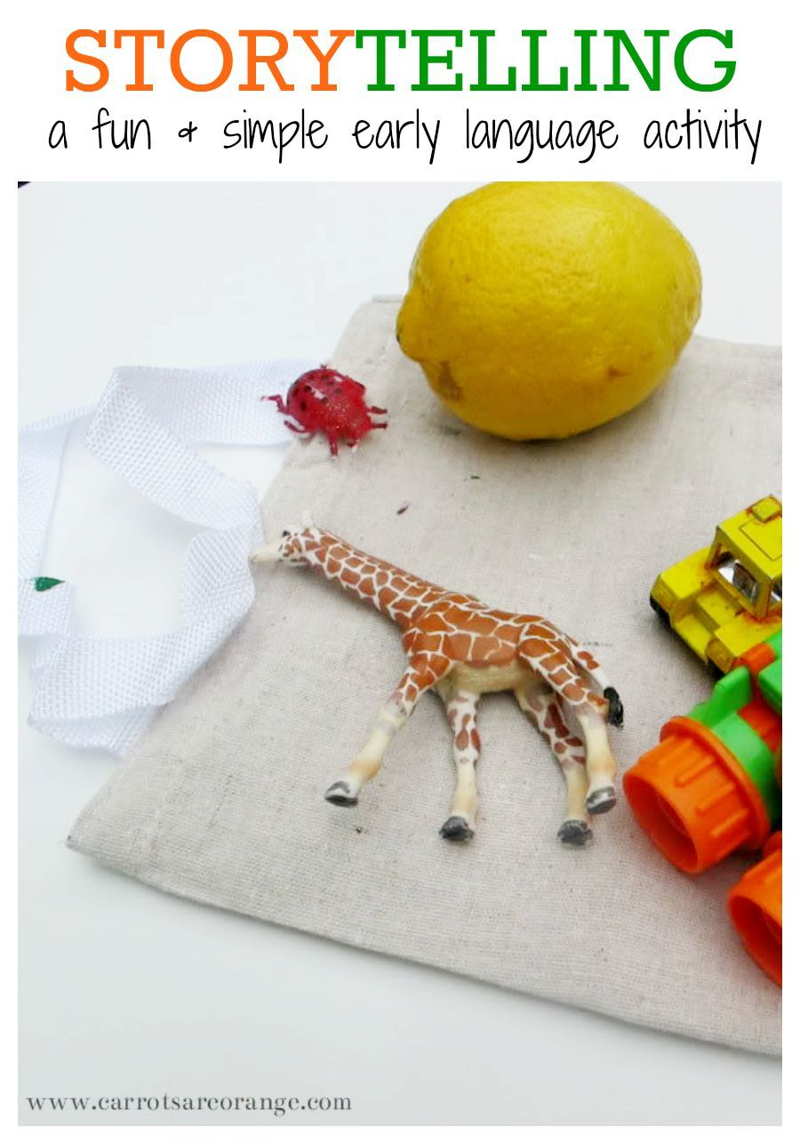 Storytelling with Kids Activity - Carrots Are Orange ...